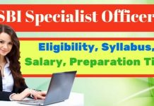 SBI Specialist Officer Exam - An Overview of the Exam
